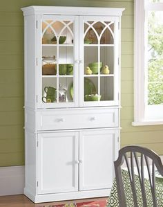 Lighted Hutch from Country Door. #NH39524. $329.99.