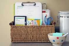 How to Create an Organized Errand Center