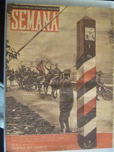 REVISTA SEMANA DE SEPTIEMBRE 1941 . PORTADA LA DIVISION AZUL EN FRENTE RUSO | eBay