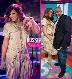 """PREGNANT: Tamar Braxton """"With Her Baby Bump"""" Steps Out With Vincent Herbert On """"106 & Park"""" [Video] ~ @Gossipwelove"""