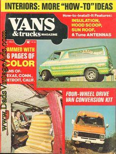 1975 September Vans & Trucks Magazine Back-Issue