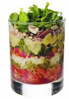 make ahead stacked salad ideas