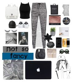"""""""Just Casual"""" by sonica1425 ❤ liked on Polyvore featuring Miss Selfridge, Zoe Karssen, adidas, Proenza Schouler, Abercrombie & Fitch, shu uemura, Givenchy, Fuji, Lux-Art Silks and ASOS"""