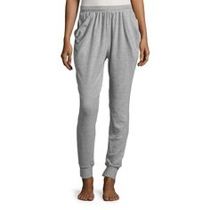 Free People Women's Everyone Loves This Jogger Pants ($68) ❤ liked on Polyvore featuring pants, black, free people pants, drawstring jogger pants, jogger pants, elastic waistband pants and jogging trousers
