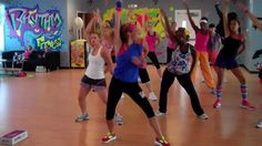 The Time (Dirty Bit) Cardio Dance FITNESS Warm Up