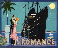 DMC Counted Cross Stitch Kit Holiday Romantics Liner Romance for sale online Love Holidays, Counted Cross Stitch Kits, Couples In Love, Fun Activities, Save The Date, Make Me Smile, Cross Stitch Patterns, Romance, Image