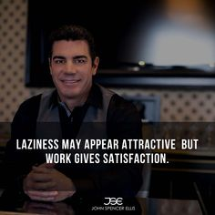 Laziness may appear attractive but work gives satisfaction. Seeing yourself you did great is the best feeling and you were able to determine that you can. #fulfilled #satisfaction #working #motivational #positiveview #youcandomore
