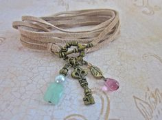 Convertible 3in1 Charm Necklace and Bracelet. Sandy by SimplyMim