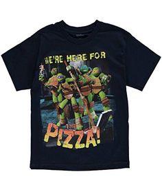 "Teenage Mutant Ninja Turtles Big Boys' ""Here for Pizza"" T-Shirt, http://www.amazon.ca/dp/B00UCOX9GG/ref=cm_sw_r_pi_awdl_3OJUvbA1SSE0W"