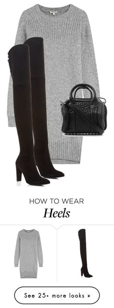 """""""Untitled #10506"""" by alexsrogers on Polyvore featuring Kenzo, Stuart Weitzman and Alexander Wang"""