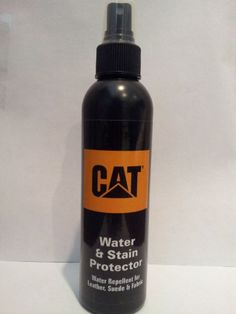 CAT Footwear Water, Rain, & Stain Repellent - Great for Leather, Fabric & Suede