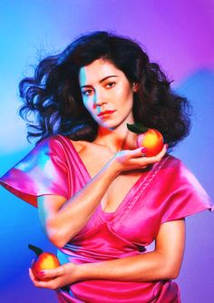 "Living la dolce vita, life couldn't get much sweeter... Marina & the Diamonds' third album is called ""FROOT."""