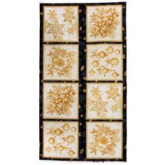 Holiday Flourish - Antique Metallic Panel - Peggy Toole - Robert Kaufman