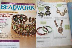 Finally on Beadwork magazine! RebelSoulEK necklace