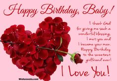 Wishing your girlfriend a happy birthday may sound easy. Worry no more, here are some good birthday wishes for girlfriend that you can consider. Advance Happy Birthday Wishes, Birthday Wishes Greetings, Happy Birthday Baby, Birthday Wishes For Myself, Best Birthday Wishes, Happy Birthday Cards, Holi Greetings, Birthday Poems For Girlfriend, Sweet Message For Girlfriend