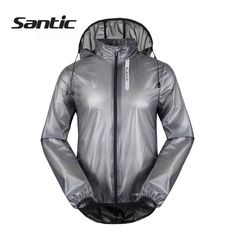 (Buy here: http://appdeal.ru/323w ) Santic Cycling Jersey UPF30+ Waterproof & Breathable Sport Hooded Cycling Rain Jacket MTB Downhill Bicycle Bike Jersey Raincoat for just US $57.58