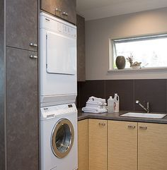 20 Laundry Room Design with Small Space Solutions