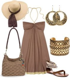 """""""Un paseo por la playa"""" by outfits-de-moda2 on Polyvore"""
