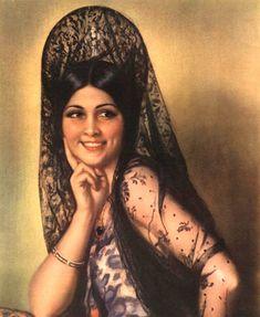 Creative Museum: Peinetas y Mantillas Españolas (Spanish Mantilla Combs) | Barbaraanne's Hair Comb Blog