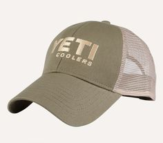 Yeti Trucker Hat – Man Outfitters