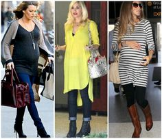 Celeb-Inspired Fall Boots Buying Guide for Preggonistas
