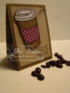 Teacher Gift using Perfect Blend with Deb Valder and Stampin' Up! free tutorial at www.stampladee.com