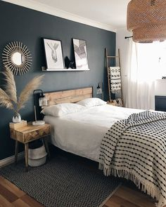 home and decor Bedroom Green, Home Bedroom, Bedroom Decor, California Bedroom, Minimalist Bedroom, Bedroom Styles, Room Inspiration, Interior Inspiration, Dream Decor