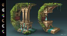 ArtStation - 3D Underlay, Noor Rahman