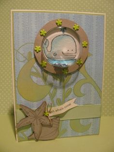 Day 15. Get Whale Soon card #stampinup