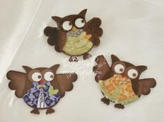 Image detail for -Trimcraft - cards and Bookmarks using Stampin Up Owl Punch