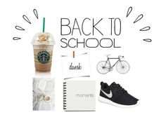 """back to school"" by matildehedrich ❤ liked on Polyvore featuring mode, Lauren Ralph Lauren, Old Navy, NIKE, women's clothing, women's fashion, women, female, woman en misses"