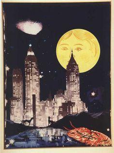 The Moon, Tarot Card, Salvador Dali