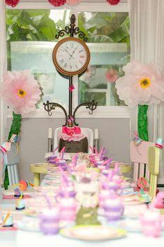 Alice in Wonderland Birthday Party Ideas   Photo 1 of 49
