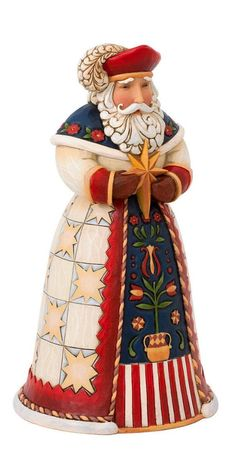 Poland Polish Santa Clause Christmas Figurine by Jim Shore