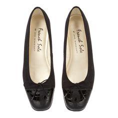 Square Toe Black Nubuck Leather with Crocodile Effect Toe Cap, £100