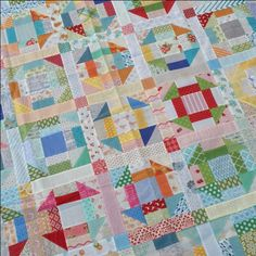 You may know that my favorite Moda precut is a layer cake. I love that you can see so much of the print. They are so versatile. I thought I would share my latest scrap quilt project. Scrap is a relati