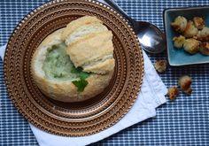 5 or less: Uiensoep in een broodje
