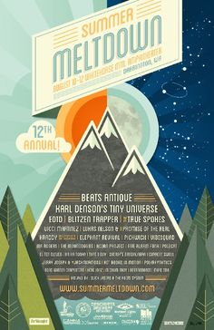 Darrington's Summer Meltdown Announces Lineup! I just got goosebumps! Mama is very happy!