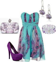 purple shoes :)