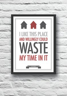 Shakespeare poster, quote print, As You Like It, housewarming gift, wall decor, literature print, typography poster