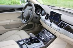 Audi A8 2015 Interior