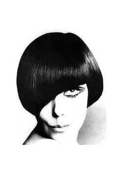 Peggy Moffitt 60年代時裝界靈感女神,由維達 沙宣 Vidal Sassoon 主理髮型