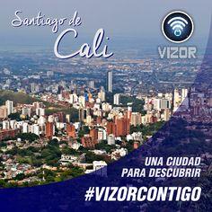 Descubre la ciudad #SantiagoDeCali junto a nuestra #App 100% segura. #VizorContigo  www.vizormobil.com