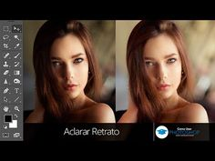 Aclarar Retrato en Photoshop - YouTube