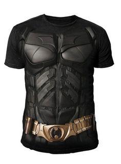 DC Comics - Batman Arkham City Herren T-Shirt - Armor Suits (Schwarz) (S-XXL)