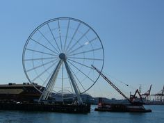 Meet Ferris Wheeler, the new kid on the Seattle waterfront http://thenewschick.com