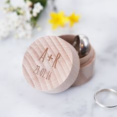 Personalised Wedding Initial Ring Box – Rustic Wedding – Wedding Ring Box – Anniversary Gift – Proposal Ring Box – Gift for Couples Rustic Wedding Rings, Wedding Ring Box, Wedding Jewelry, Wooden Ring Box, Wooden Rings, Engagement Gifts, Engagement Couple, Engagement Ring, Proposal Ring Box