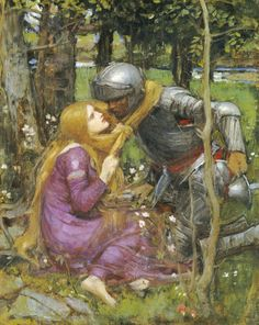 A Study For 'La Belle Dame Sans Merci', John William Waterhouse