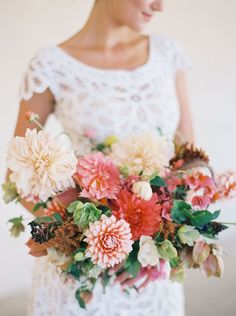 Fall Bouquet, blush