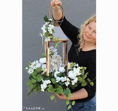 Large Floral Arrangements, Silk Arrangements, Bird Cage Centerpiece, Flower Centerpieces, Fall Flowers, White Flowers, Clay Flower Pots, Sympathy Flowers, Cascade Bouquet